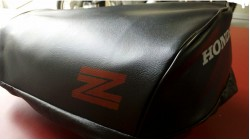 1980 | 1981 Honda Z50R Seat Cover Black with Red Z