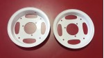 1980-1999 Z50R Z50RD White | Silver | Chrome Wheel Rim